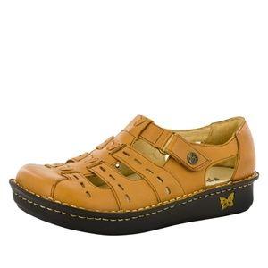 ALEGRIA | Pesca Cognac Sandals Size 36